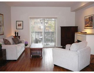 """Photo 2: 42 550 BROWNING Place in North_Vancouver: Seymour Townhouse for sale in """"TANAGER"""" (North Vancouver)  : MLS®# V709565"""