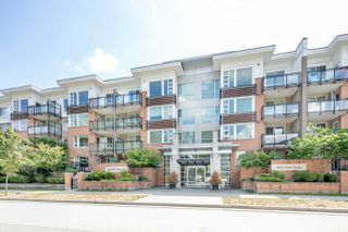 "Photo 1: 208 9500 ODLIN Road in Richmond: West Cambie Condo for sale in ""CAMBRIDGE PARK"" : MLS®# R2389996"