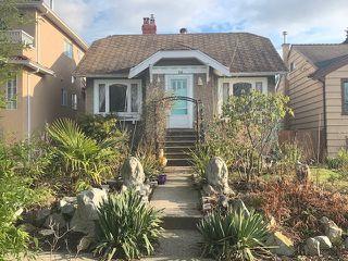 Photo 1: 716 CASSIAR Street in Vancouver: Renfrew VE House for sale (Vancouver East)  : MLS®# R2428686