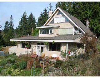 Photo 1: 503 CRAIG'S END BB in Bowen_Island: Bowen Island House for sale : MLS®# V676555
