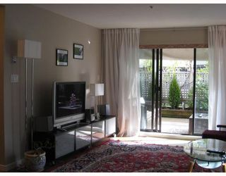 "Photo 3: 103 2978 BURLINGTON Drive in Coquitlam: North Coquitlam Condo for sale in ""THE BURLINGTON"" : MLS®# V699588"