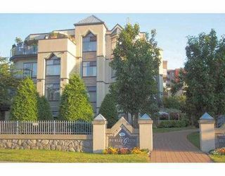 "Photo 1: 103 2978 BURLINGTON Drive in Coquitlam: North Coquitlam Condo for sale in ""THE BURLINGTON"" : MLS®# V699588"