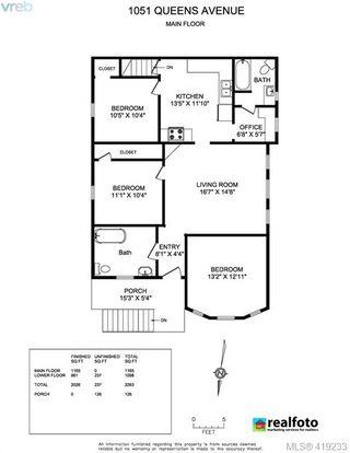 Photo 28: 1051 Queens Avenue in VICTORIA: Vi Central Park Half Duplex for sale (Victoria)  : MLS®# 419233