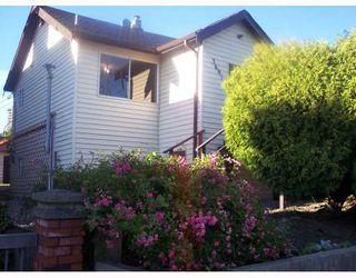 "Photo 1: 3691 E GEORGIA Street in Vancouver: Renfrew VE House for sale in ""RENFREW"" (Vancouver East)  : MLS®# V659046"