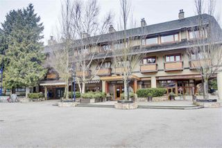 "Main Photo: 107 4220 GATEWAY Drive in Whistler: Whistler Village Condo for sale in ""BLACKCOMB LODGE"" : MLS®# R2414345"