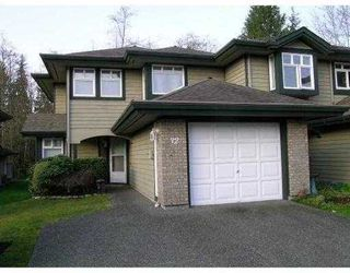 "Photo 1: 32 11737 236TH Street in Maple_Ridge: Cottonwood MR Townhouse for sale in ""MAPLEWOOD CREEK"" (Maple Ridge)  : MLS®# V673303"