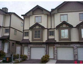 """Photo 1: 58 14855 100 Avenue in Surrey: Guildford Townhouse for sale in """"Hampstead Mews"""" (North Surrey)  : MLS®# F2728272"""