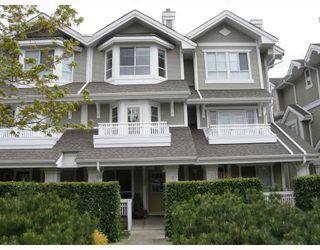 "Photo 1: 12 22000 SHARPE Avenue in Richmond: Hamilton RI Townhouse for sale in ""RICHMOND MEWS"" : MLS®# V705204"