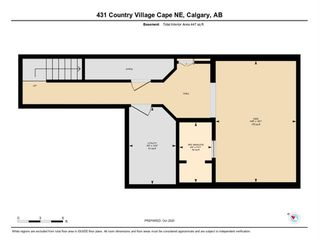 Photo 33: 431 Country Village Cape NE in Calgary: Country Hills Village Row/Townhouse for sale : MLS®# A1043447