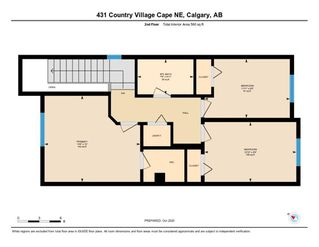 Photo 32: 431 Country Village Cape NE in Calgary: Country Hills Village Row/Townhouse for sale : MLS®# A1043447