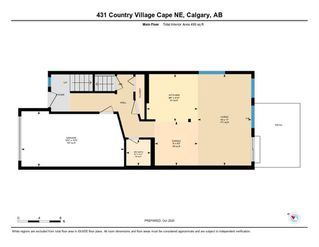Photo 31: 431 Country Village Cape NE in Calgary: Country Hills Village Row/Townhouse for sale : MLS®# A1043447
