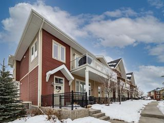 Main Photo: 210 Auburn Meadows SE in Calgary: Auburn Bay Row/Townhouse for sale : MLS®# A1056428