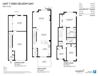 """Photo 16: 7 8385 DELSOM Way in Delta: Nordel Townhouse for sale in """"Radiance at Sunstone"""" (N. Delta)  : MLS®# R2396034"""