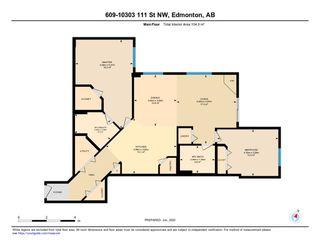 Photo 43: 609 10303 111 Street in Edmonton: Zone 12 Condo for sale : MLS®# E4203737
