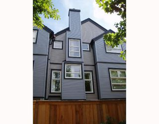 Photo 1: 14 888 W 16TH Avenue in Vancouver: Cambie Townhouse for sale (Vancouver West)  : MLS®# V665519