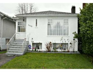 Photo 1: 3468 W 14TH Ave in Vancouver: Kitsilano House for sale (Vancouver West)  : MLS®# V631185
