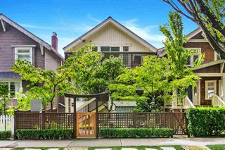 Photo 1: 2239 TRAFALGAR Street in Vancouver: Kitsilano House for sale (Vancouver West)  : MLS®# R2504607