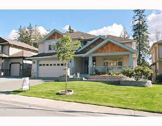"Photo 1: 22750 HOLYROOD Avenue in Maple_Ridge: East Central House for sale in ""GREYSTONE"" (Maple Ridge)  : MLS®# V672223"