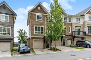 """Photo 1: 47 1295 SOBALL Street in Coquitlam: Burke Mountain Townhouse for sale in """"TYNE RIDGE"""" : MLS®# R2461908"""