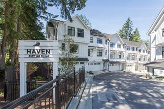 """Photo 1: 29 3339 148 Street in Surrey: King George Corridor Townhouse for sale in """"THE HAVEN"""" (South Surrey White Rock)  : MLS®# R2483720"""