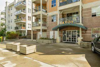 Photo 2: 302 10011 110 Street in Edmonton: Zone 12 Condo for sale : MLS®# E4202661