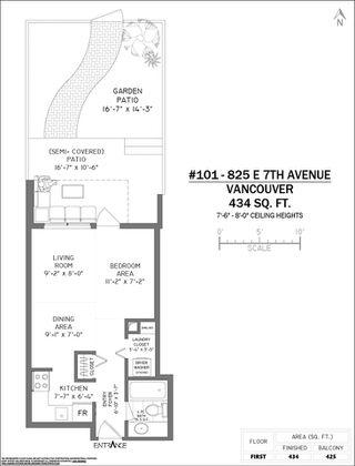 Photo 21: 101 825 E 7TH AVENUE in Vancouver: Mount Pleasant VE Condo for sale (Vancouver East)  : MLS®# R2509820