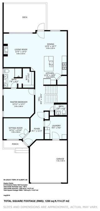 Photo 30: 24 50 Legacy Terrace: St. Albert House Half Duplex for sale : MLS®# E4224681