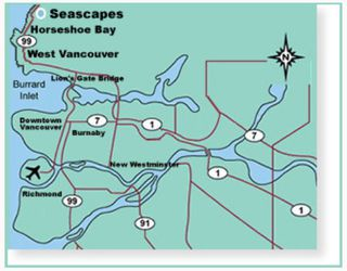 """Photo 3: 70 8617 SEASCAPE Drive in West_Vancouver: Howe Sound Townhouse for sale in """"SEASCAPES"""" (West Vancouver)  : MLS®# V684701"""
