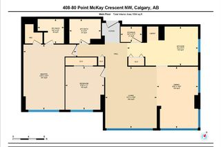 Photo 3: 408 80 Point McKay Crescent NW in Calgary: Point McKay Apartment for sale : MLS®# A1023415
