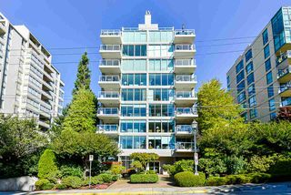 "Main Photo: 502 1455 DUCHESS Avenue in West Vancouver: Ambleside Condo for sale in ""SUNSET MARINER"" : MLS®# R2503311"