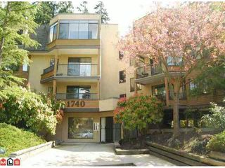 """Main Photo: # 208 1740 SOUTHMERE CR in Surrey: Sunnyside Park Surrey Condo for sale in """"SOUTHMERE MEWS"""" (South Surrey White Rock)  : MLS®# F1100357"""