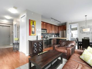 "Photo 1: 213 2055 YUKON Street in Vancouver: False Creek Condo for sale in ""MONTREAUX"" (Vancouver West)  : MLS®# R2406659"