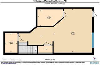 Photo 25: 138 Aspen Mews: Strathmore Semi Detached for sale : MLS®# C4299274