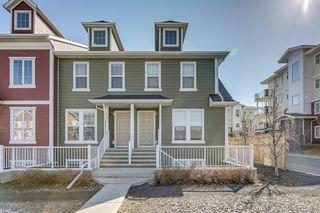 Photo 1: 34 AUBURN BAY Link SE in Calgary: Auburn Bay Row/Townhouse for sale : MLS®# A1027472