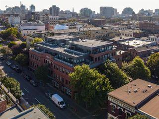 Photo 1: 409 595 Pandora Ave in : Vi Downtown Condo for sale (Victoria)  : MLS®# 862378