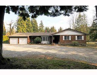 Photo 1: 12606 251ST Street in Maple_Ridge: Websters Corners House for sale (Maple Ridge)  : MLS®# V691278