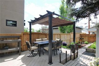 Photo 34: 603 15 Street NW in Calgary: Hillhurst Semi Detached for sale : MLS®# C4300214