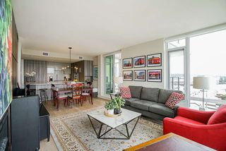 """Photo 3: 1201 210 SALTER Street in New Westminster: Queensborough Condo for sale in """"The Peninsula"""" : MLS®# R2497782"""