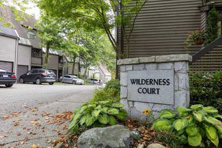 "Photo 1: 8586 WILDERNESS Court in Burnaby: Forest Hills BN Townhouse for sale in ""SIMON FRASER VILLAGE"" (Burnaby North)  : MLS®# R2501079"