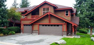 """Photo 2: 4 1530 TYNEBRIDGE Lane in Whistler: Spring Creek Townhouse for sale in """"The Glades"""" : MLS®# R2406600"""