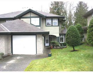 "Photo 1: 37 11737 236TH Street in Maple_Ridge: Cottonwood MR Townhouse for sale in ""MAPLE WOOD CREEK"" (Maple Ridge)  : MLS®# V696012"