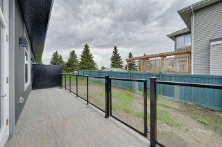 Photo 40: 3 20425 93 Avenue in Edmonton: Zone 58 House Half Duplex for sale : MLS®# E4202783
