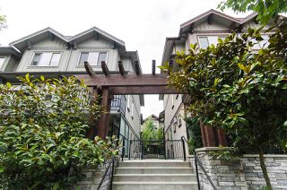 Photo 1: 58 433 SEYMOUR RIVER Place in North Vancouver: Seymour NV Townhouse for sale : MLS®# R2500921