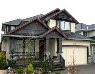 "Main Photo: 7350 201ST Street in Langley: Willoughby Heights House for sale in ""JERICHO RIDGE"" : MLS®# F2729287"