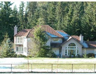Photo 1: 147 FERN Drive: Anmore House for sale (Port Moody)  : MLS®# V688000