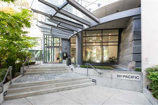 "Photo 1: 1004 501 PACIFIC Street in Vancouver: Downtown VW Condo for sale in ""THE 501"" (Vancouver West)  : MLS®# R2481781"