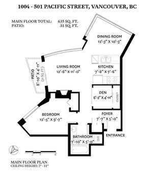 "Photo 22: 1004 501 PACIFIC Street in Vancouver: Downtown VW Condo for sale in ""THE 501"" (Vancouver West)  : MLS®# R2481781"
