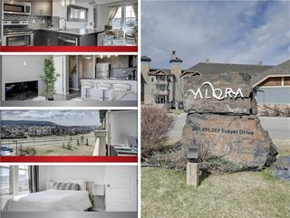 Photo 1: 413 207 SUNSET Drive: Cochrane Apartment for sale : MLS®# C4295535