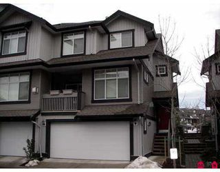 "Photo 1: 18839 69TH Ave in Surrey: Clayton Townhouse for sale in ""STARPOINT II"" (Cloverdale)  : MLS®# F2626999"