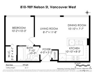 "Photo 20: 810 989 NELSON Street in Vancouver: Downtown VW Condo for sale in ""ELECTRA"" (Vancouver West)  : MLS®# R2409945"